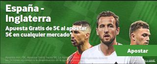betway Apuesta 5 y llévate 10 España vs Inglaterra 15 octubre
