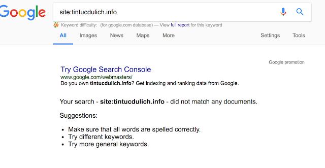 Cú pháp tìm kiếm nâng cao kiểm tra domain