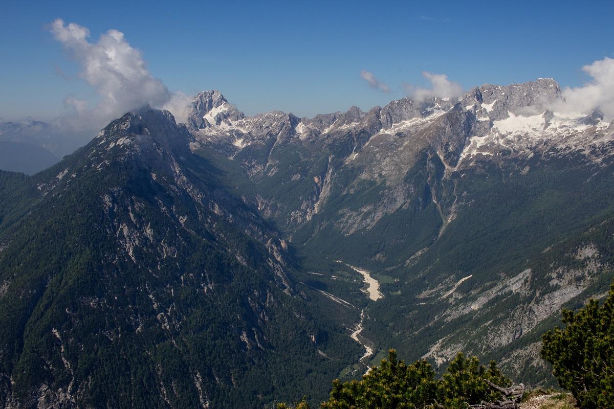 Blick vom Slovenska Pot