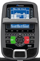 Nautilus U618 SightLine console, image, with STN blue backlit LCD Dual Track display, Bluetooth, 4 user profiles