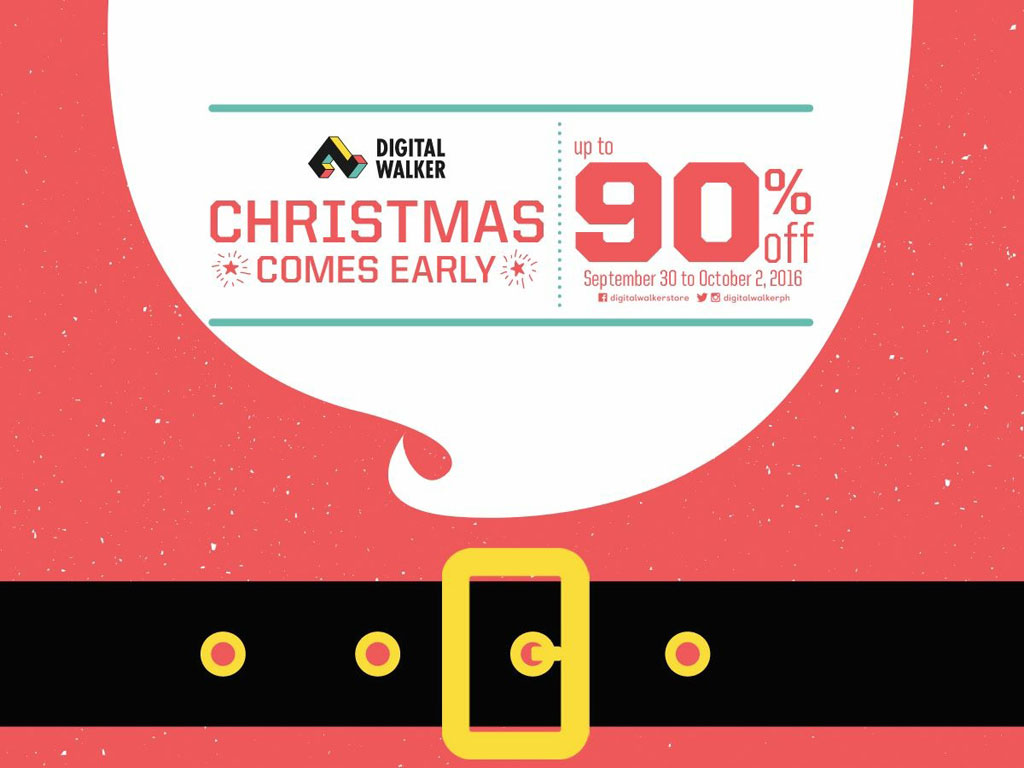 Digital Walker Early Christmas Sale