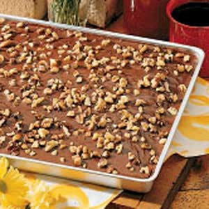 Texas Sheet Cake Recipe Large Pan