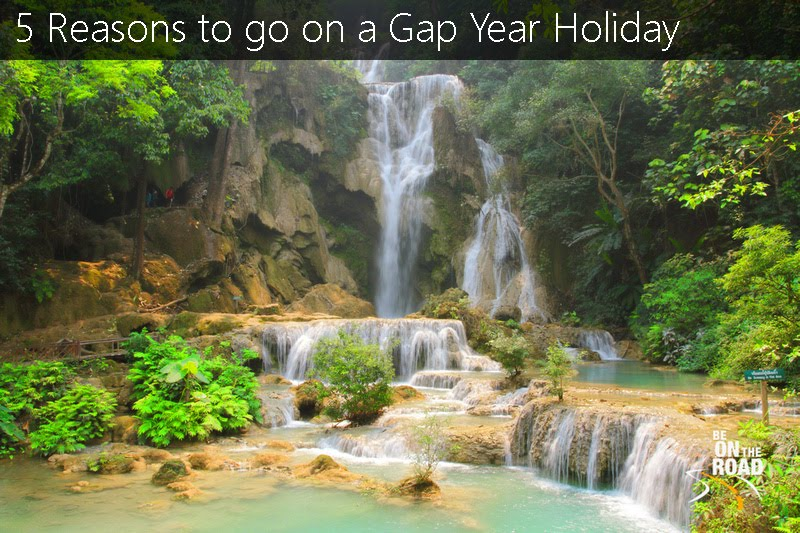 Gorgeous Kuang Xi waterfall near Luang Prabang, Laos