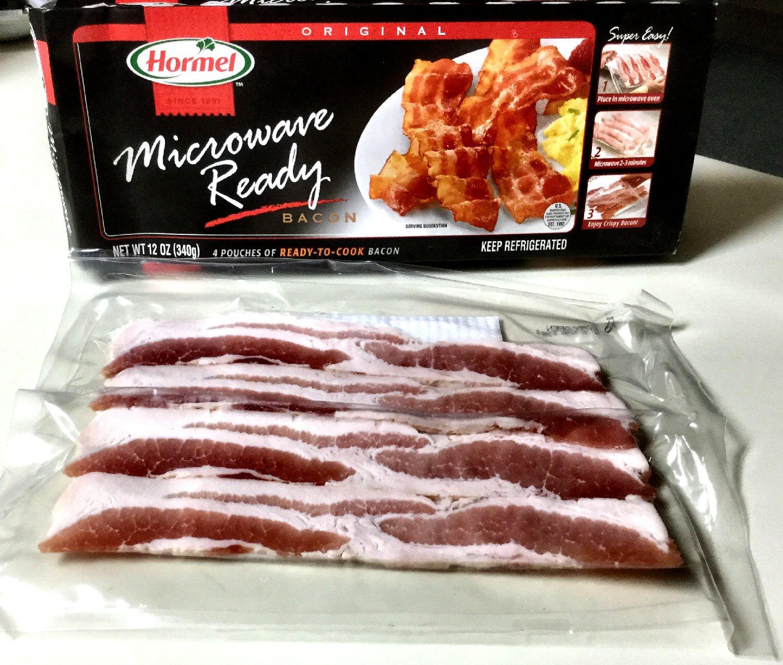 Hormel Microwave Ready Bacon Bestmicrowave