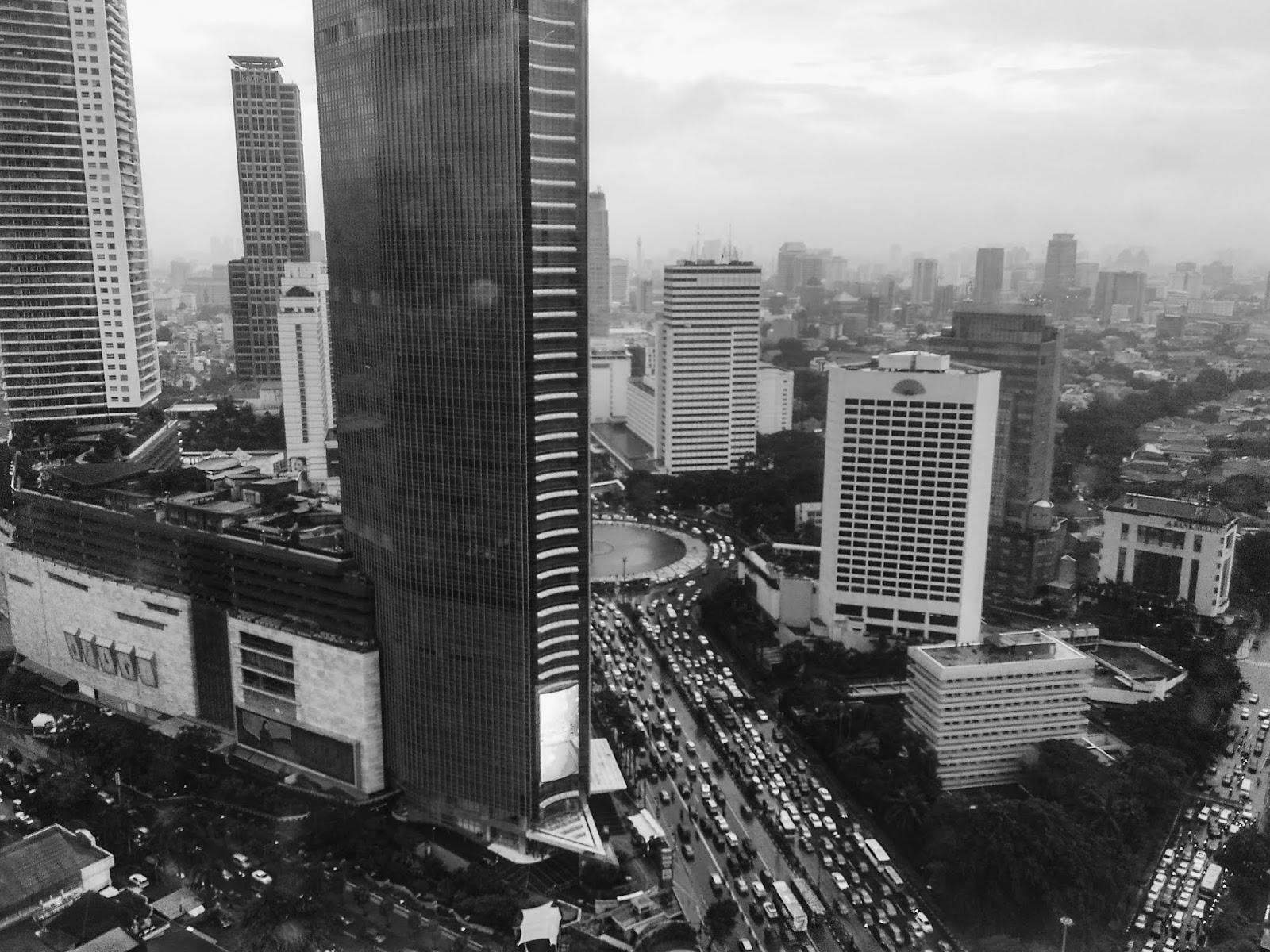 JAKARTA'S TRAFFIC JAM