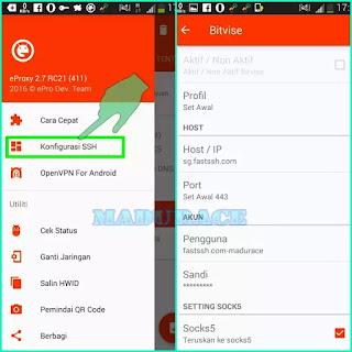 Aplikasi Internet Gratis Android Eproxy