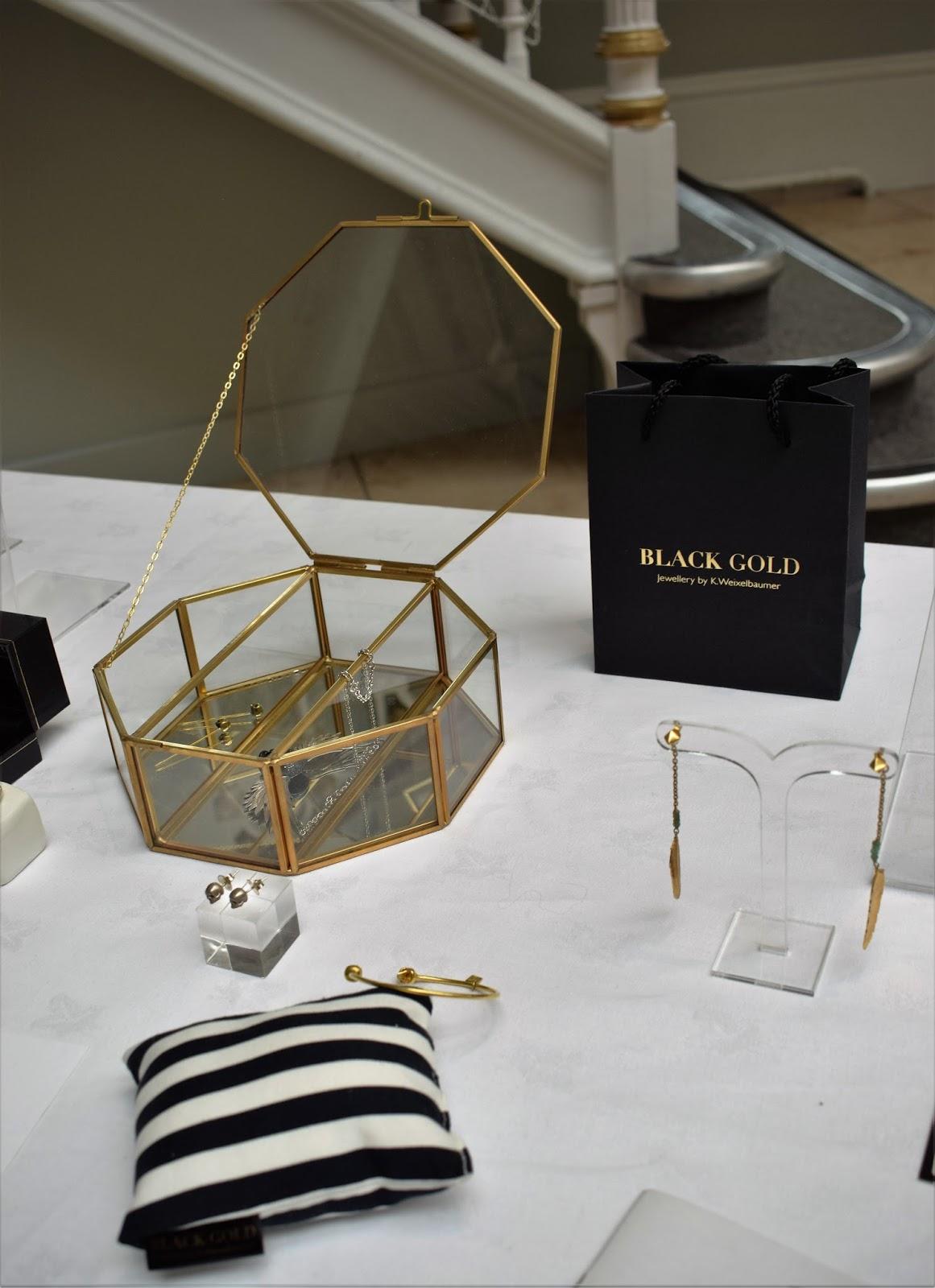 Edinburgh International Fashion Festival, jewellery exhibition at national museum of scotland edinburgh, black gold jewellery by black betty South Africa