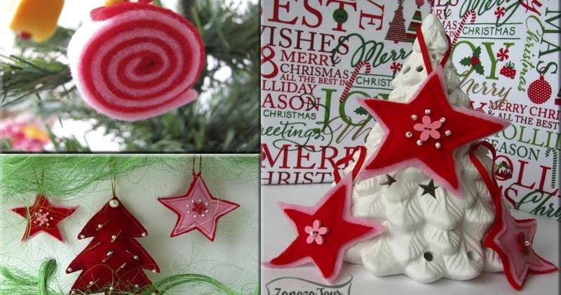 novogodnie-igrushki-iz-fetra-15 Новогодние игрушки на елку своими руками из фетра — выкройки для фетровых елочных украшений
