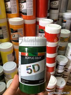 Màu Acrylic 300ml: Bạn muốn mua màu vẽ Acrylic