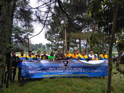 Penanaman Pohon dalam even SBM Jateng 2017