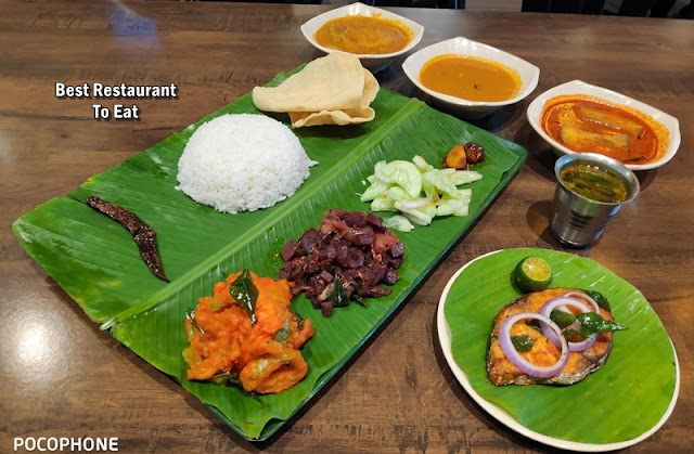 Banana Leaf Rice Fried Tenggiri Fish Set