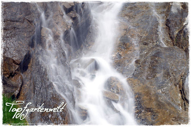 Großglockner Hochlapenstraße Wasserfall