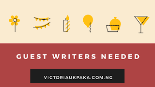 Guest writers needed