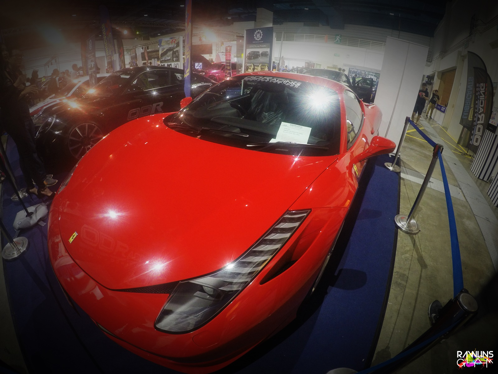 4th Dream Car Expo, Auto Accessories, Auto Show, byrawlins, Ferrari, Golden Land, Lamborghini, Porsche, Rawlins GLAM,