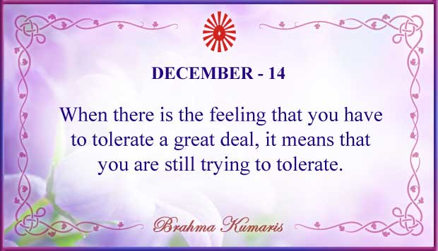 Thought For The Day December 14
