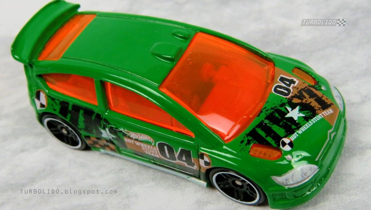 turbolido cars hot wheels citroen  rally hw