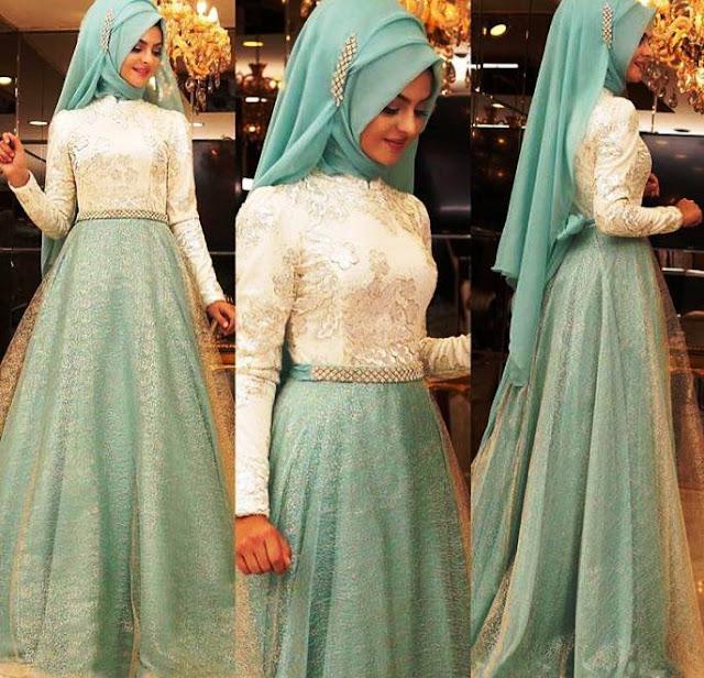 Inspirasi Gaun Muslimah Cantik dan Trendy 2001614