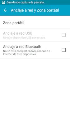 Cómo compartir los datos moviles de tu Android