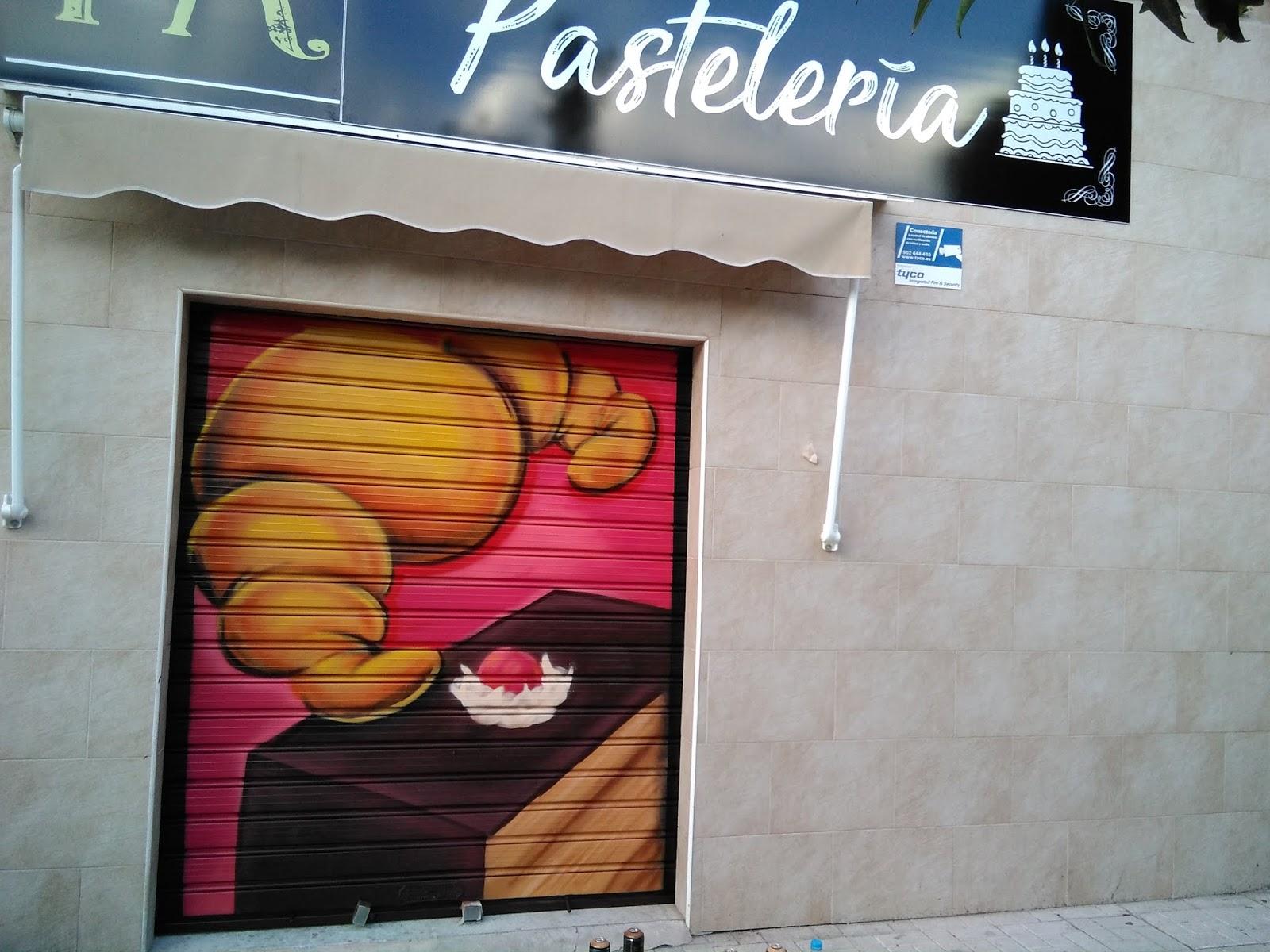 Rotulación en técnica graffiti para cierre de comercios ~ MURALES ... 63568731bac