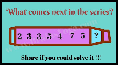 Sequence Number Picture Puzzle to find next number in series