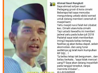 Diberi 'Amplop' Senilai Rp 50 Juta, Begini Jawaban Ustaz Abdul Somad yang Bikin Jemaah Kaget