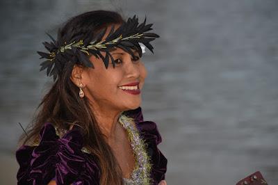 Hula Dancer Musician