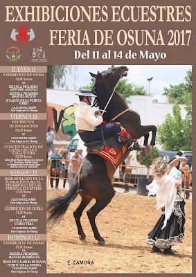 FERIA DE OSUNA 2017 - EXHIBICIONES ECUESTRES DEL 11 AL 14 DE MAYO