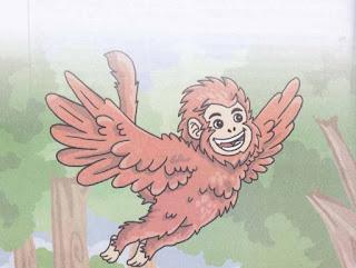 kisah monyet dan burung merpati