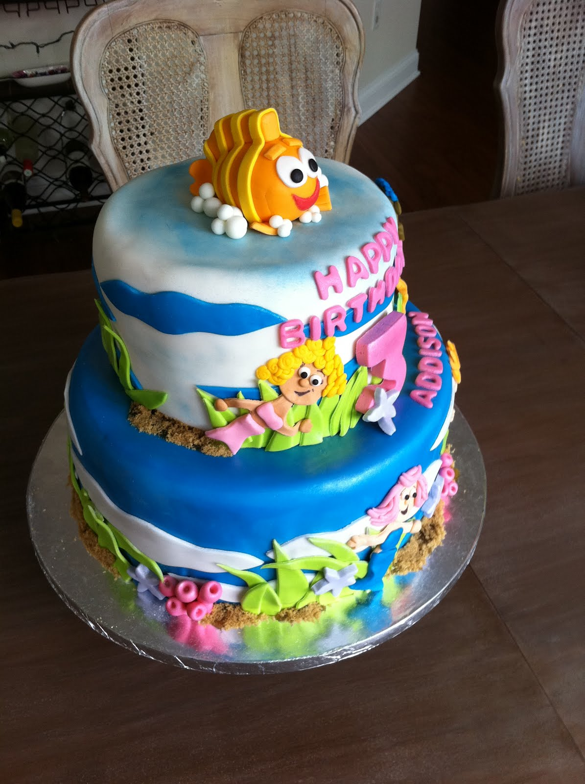 Bubble Guppies Cakes Cake Ideas And Designs