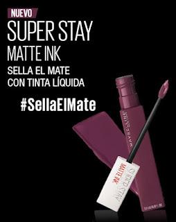 Prueba Maybelline SuperStay Matte Ink Believer