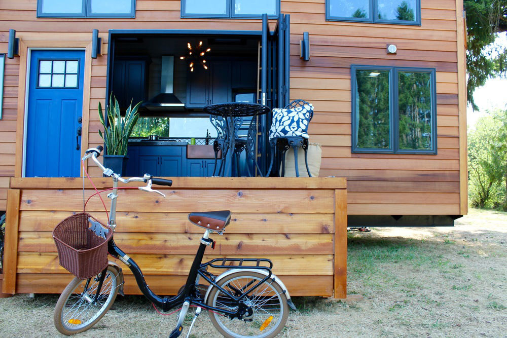 TINY HOUSE TOWN: The Luxurious Tiny House From Tiny Heirloom