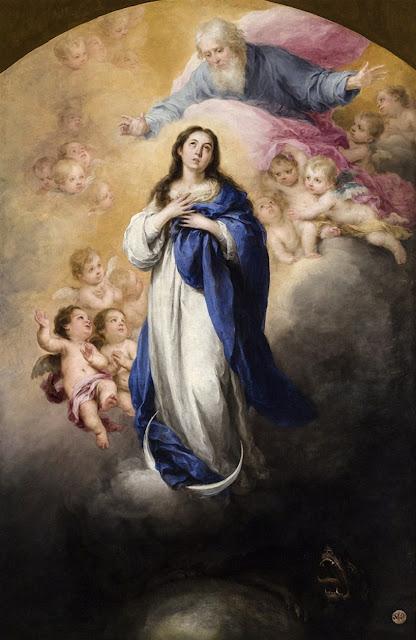Resultado de imagen de inmaculada del padre eterno murillo