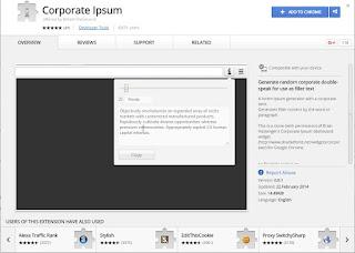 Corporate Ipsum