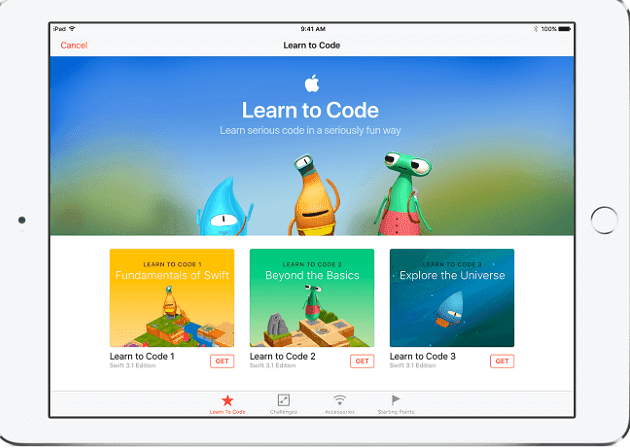 Learning Swift With Swift Playgrounds App