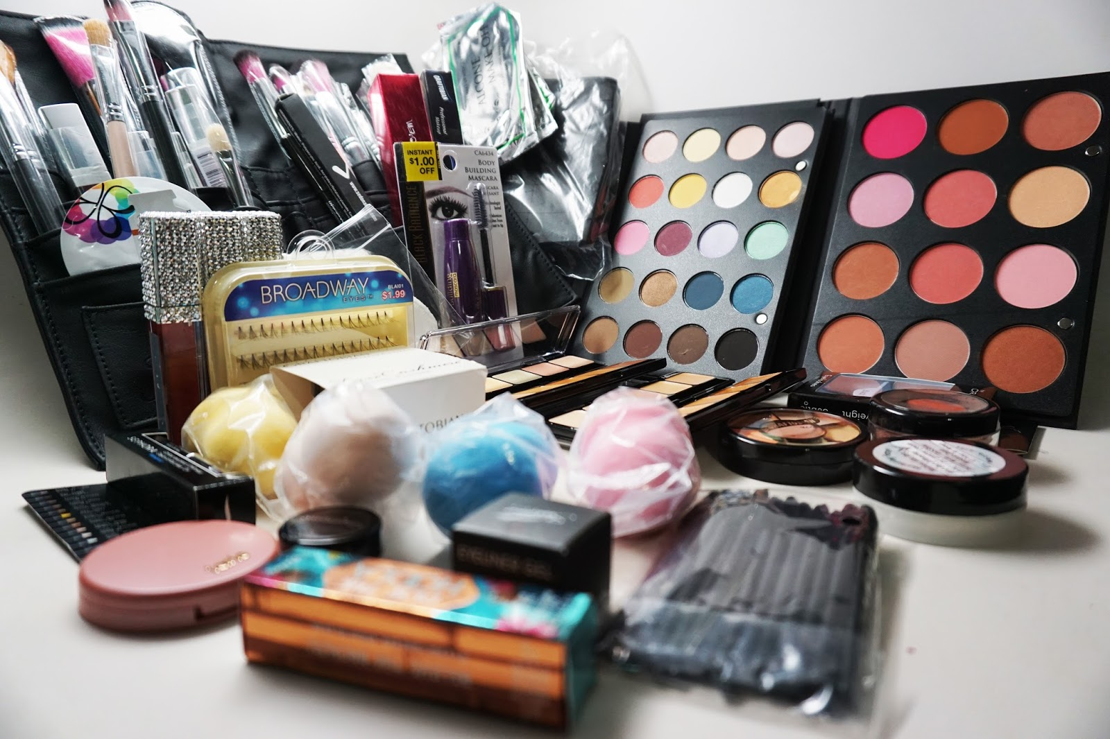 Today I'll be giving a very lucky Makeup Artist their very own, professional makeup kit to kick start their career.