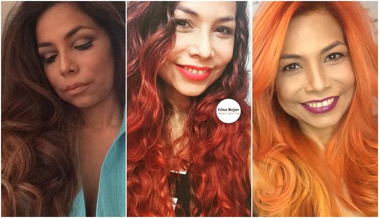cambio de color de cabello con decoloración