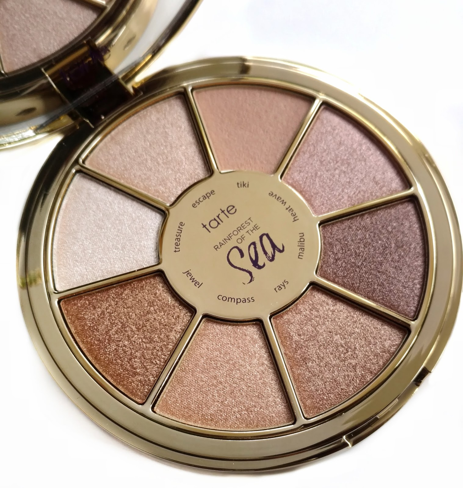 tarte rainforest of the sea eyeshadow palette volume III