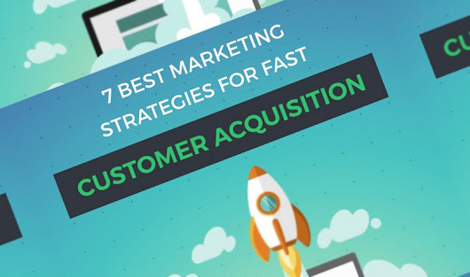 SEO, Social Media, Email, Influencer Marketing: 7 Ways To Dramatically Improve Your Customer Acquisition - #infographic