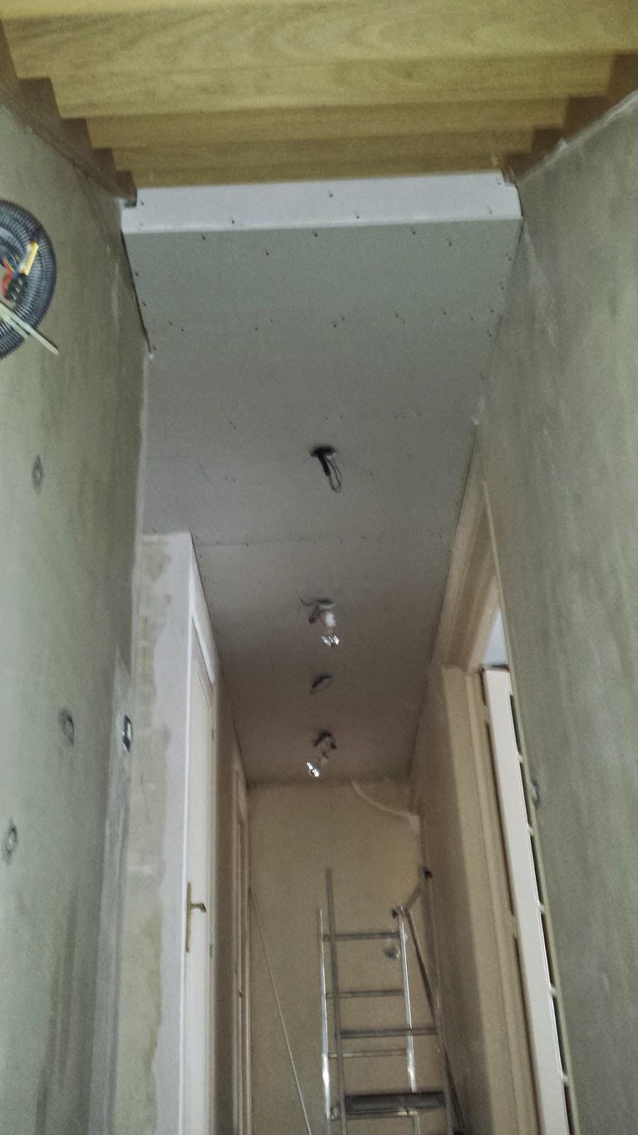 couloir faux plafond partie 6 massy travaux bricolage. Black Bedroom Furniture Sets. Home Design Ideas