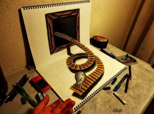 09-NAGAI-HIDEYUKI-Hide-永井-秀幸-3D-Pencil-Drawings-www-designstack-co