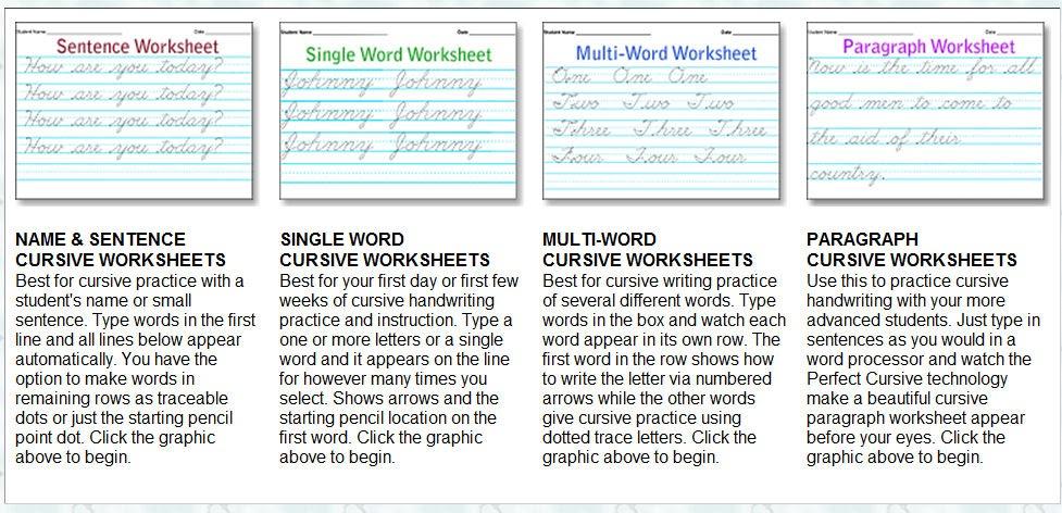 storytime and more free cursive handwriting worksheet maker. Black Bedroom Furniture Sets. Home Design Ideas