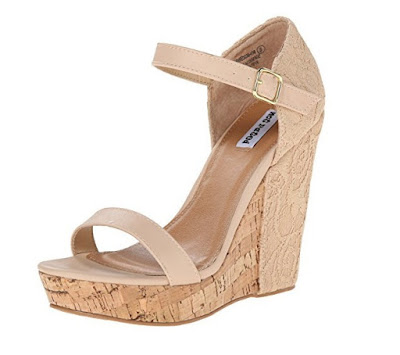 Cute and affordable shoes Not Rated Nude Wedges