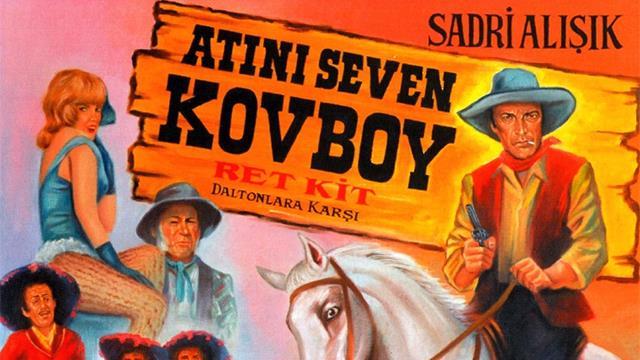 atını seven kovboy 1974