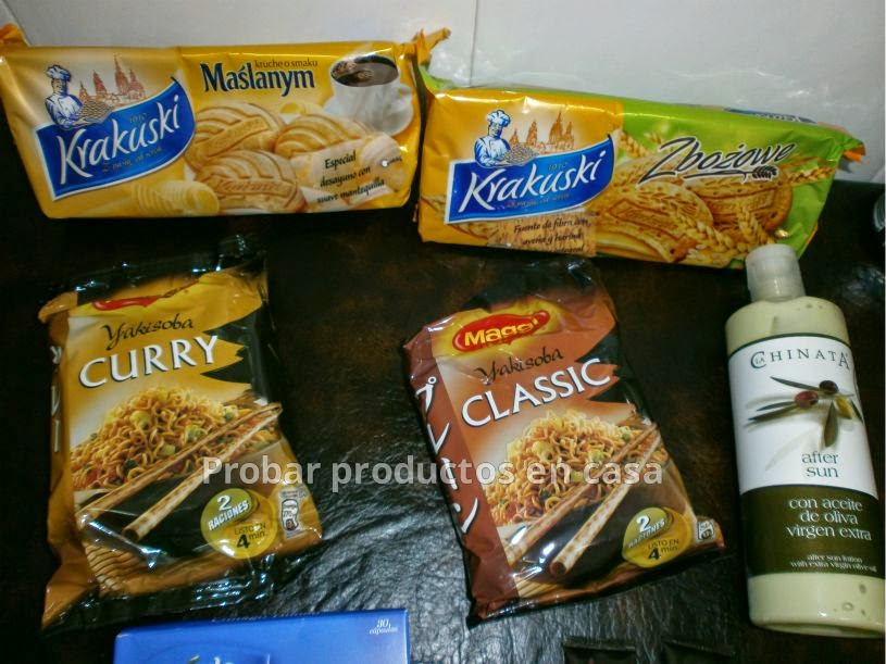 Disfrutabox: Yokisoba Classic y yokixoba Curry, After Sun la chinata, Yakisoba classic y Yakisoba Curry