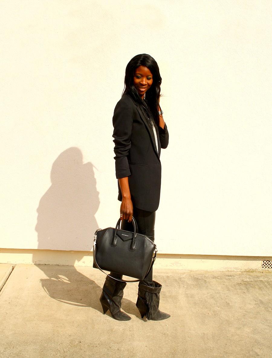 fringe-boots-isabel-marant-hm-givenchy-antigona-pantalon-cuir-blazer-oversize-blog-mode
