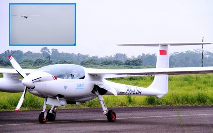 Surveillance Aircraft (PK-LSA01) Lapan