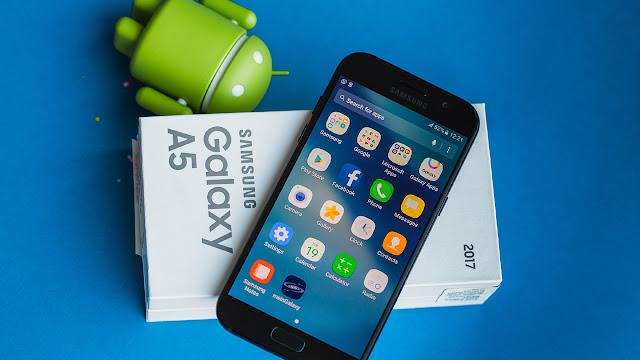 سامسونج تضيف تحديث أوريو إلى هاتفها Samsung Galaxy A5