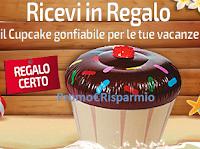 Logo Missione Famiglia Estate Aquafresh 2018 : ricevi Cupcake gonfiabile come premio certo !