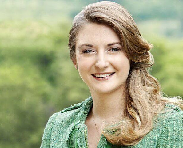 Hereditary Grand Duchess Stephanie celebrates her 33rd birthday