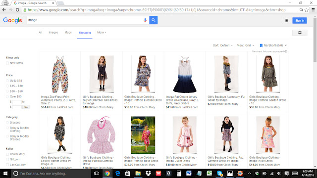 Google Shopping | Imoga | Chichi Mary Online Girl's Boutique